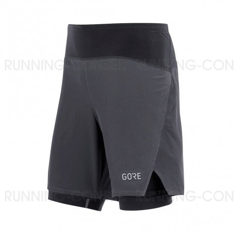 GORE® Shorts R7 2in1 Homme | Black