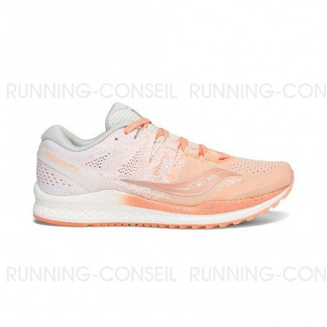 SAUCONY FREEDOM ISO 2 Femme | Peach / White