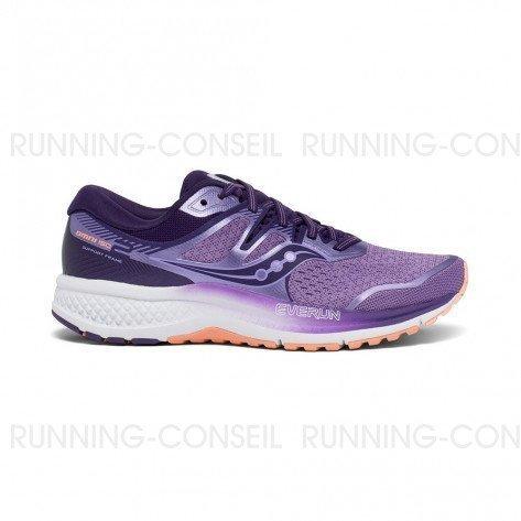 SAUCONY OMNI ISO Femme | Purple / Peach