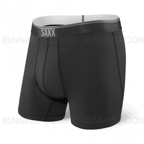 SAXX UNDERWEAR Quest boxer brief fly Homme | Black