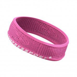 COMPRESSPORT Bandeau THIN HEADBAND ON/OFF | Rose