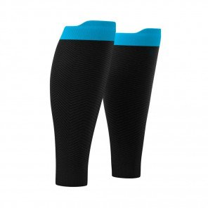 COMPRESSPORT Manchons de compression R2 OXYGEN | Noir et Bleu