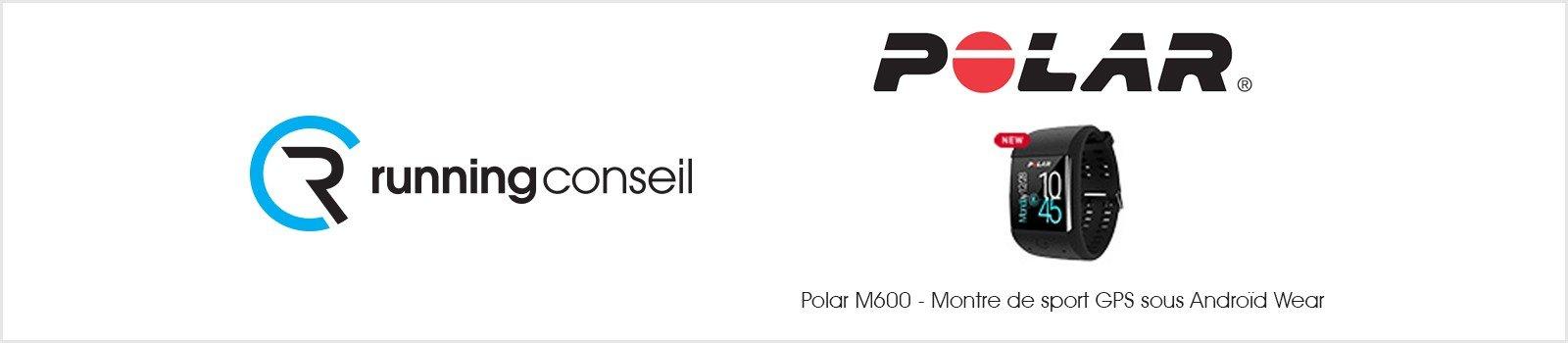 Polar M600 - Montre de sport GPS sous Androïd Wear