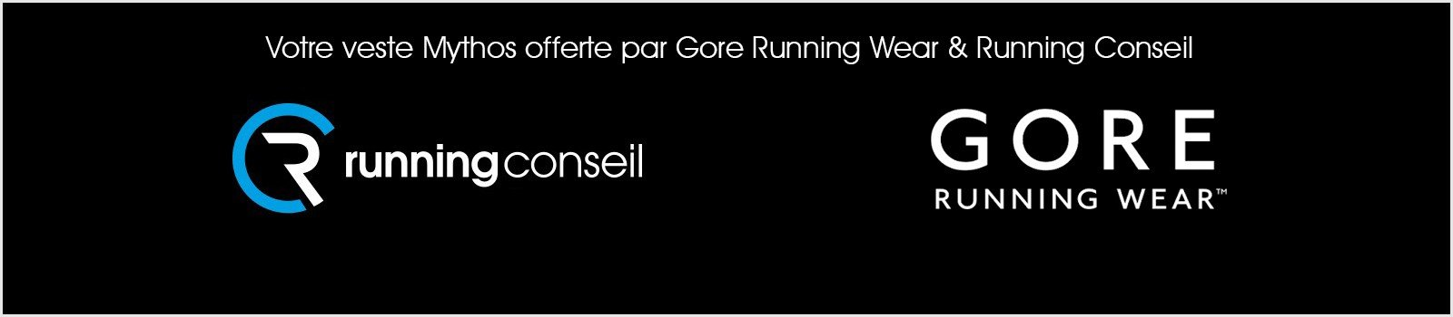 Votre veste Mythos offerte par Gore Running Wear & Running Conseil